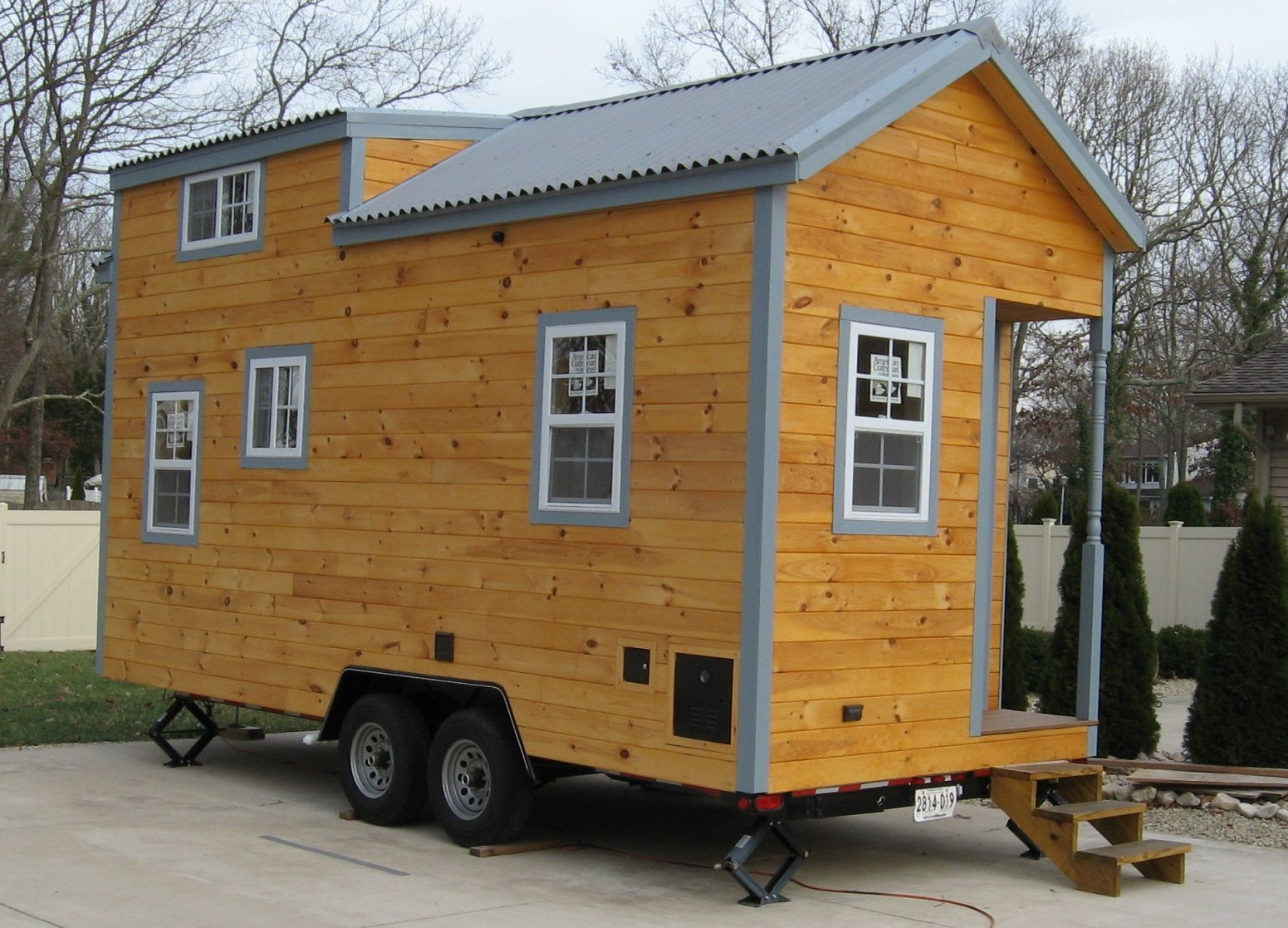 This is the Cassie Model THOW by NJ Tiny House that's for