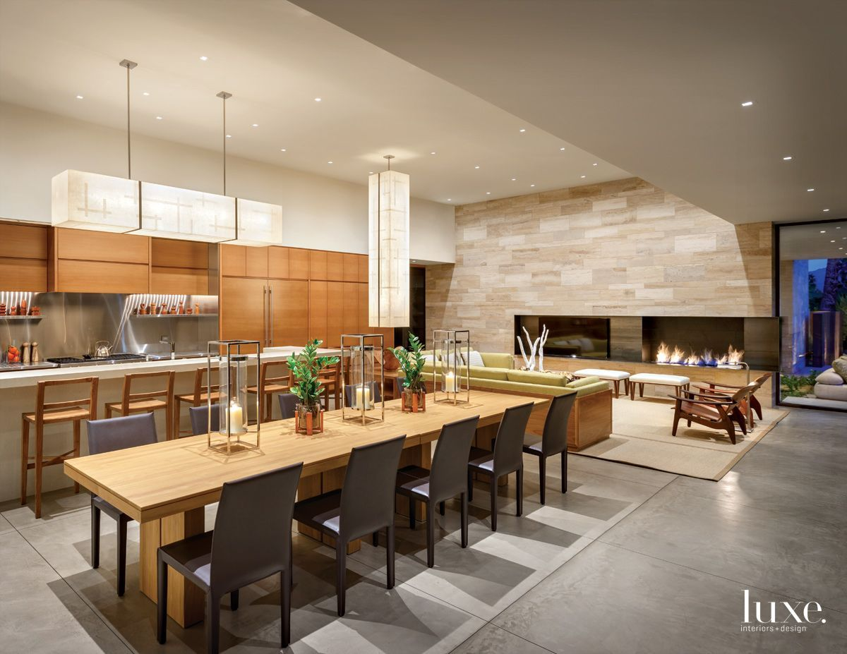 A Modern Palm Springs Desert Home With Micentury Style Luxesource Luxe Magazine The Luxury Home Redef Modern Desert Luxe Interiors Mexican Style Kitchens