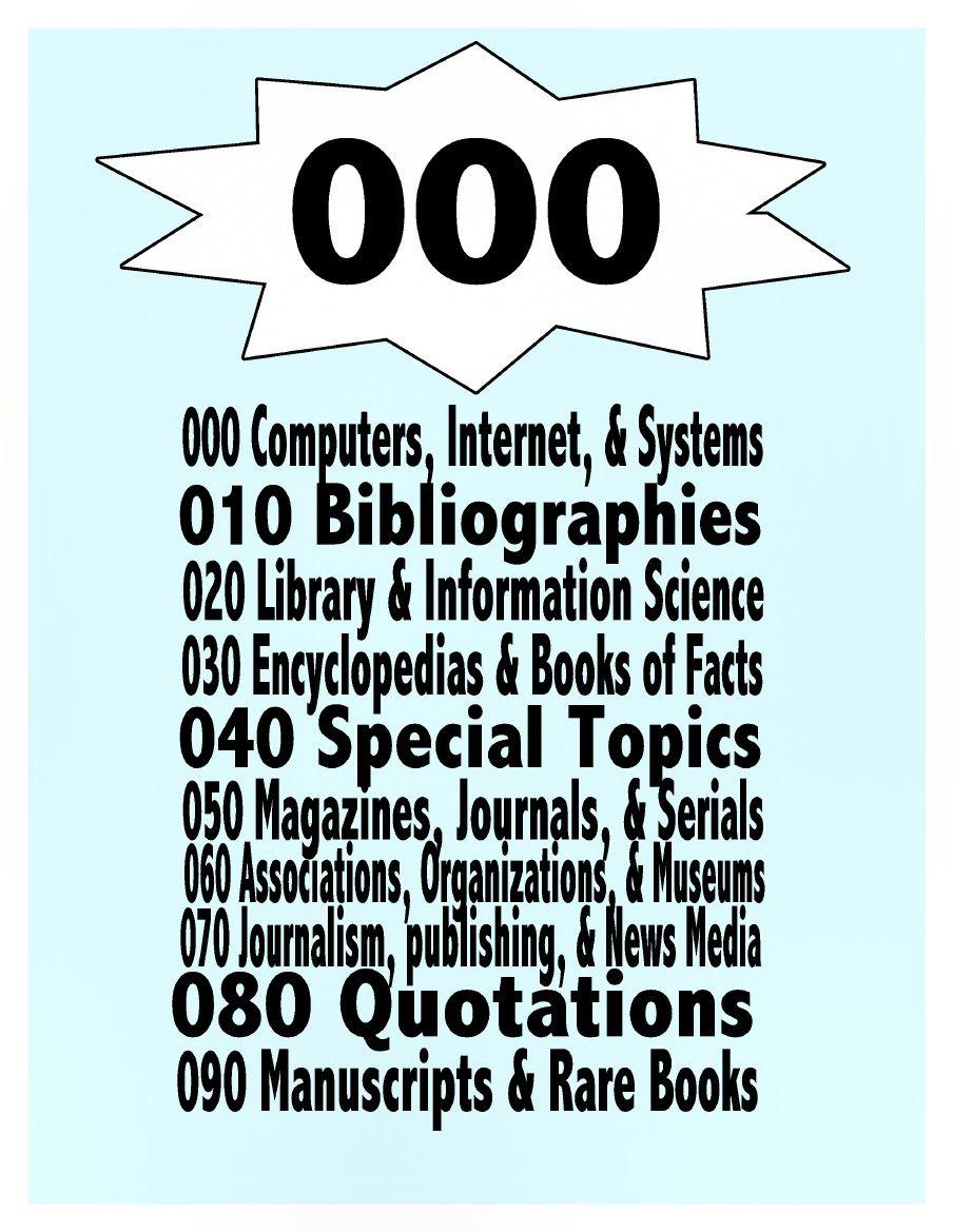 Dewey decimal system worksheets free worksheet examples the dewey decimal signs scribd robcynllc Images