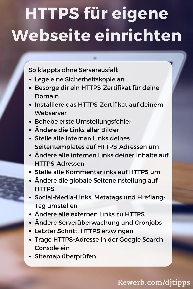 Muss ich #HTTPS für meine #Webseite einrichten? Ich zeige dir, woher ...