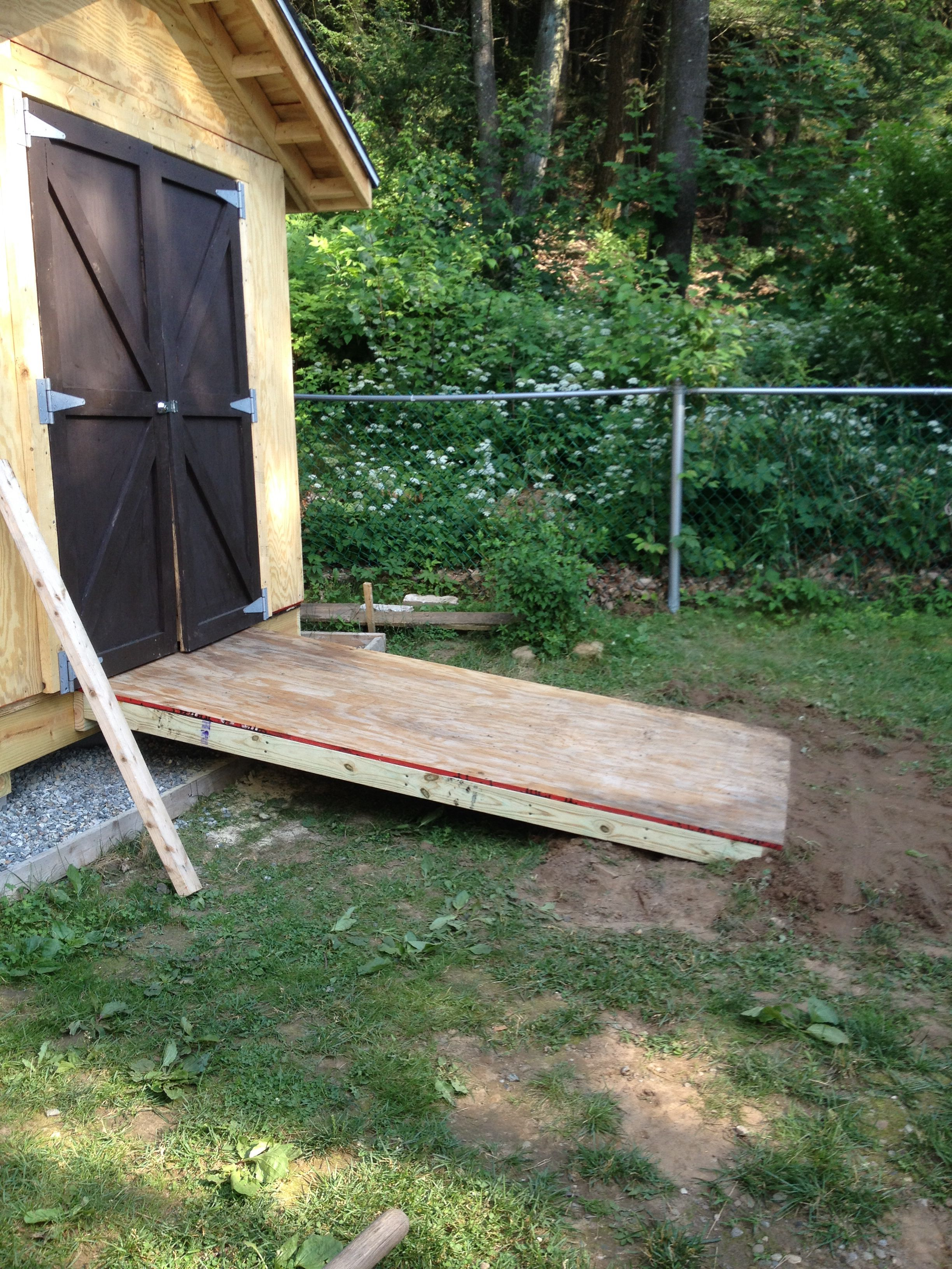 build storage how foundation to shed ramp rafters cheap for howo sheds wood