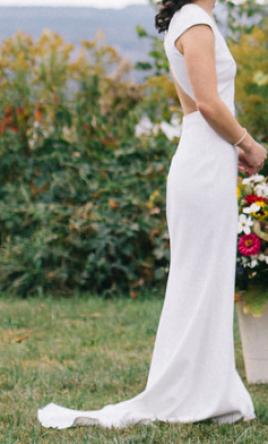 Bhldn Sawyer Wedding Dress Used Size 2 475 Dresses