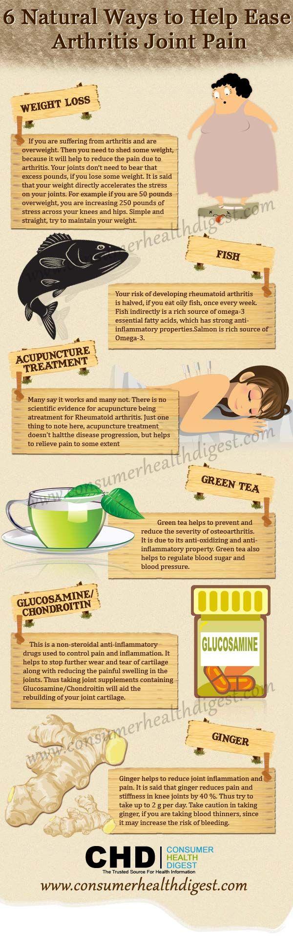 Natural Ways To Heal Arthritis