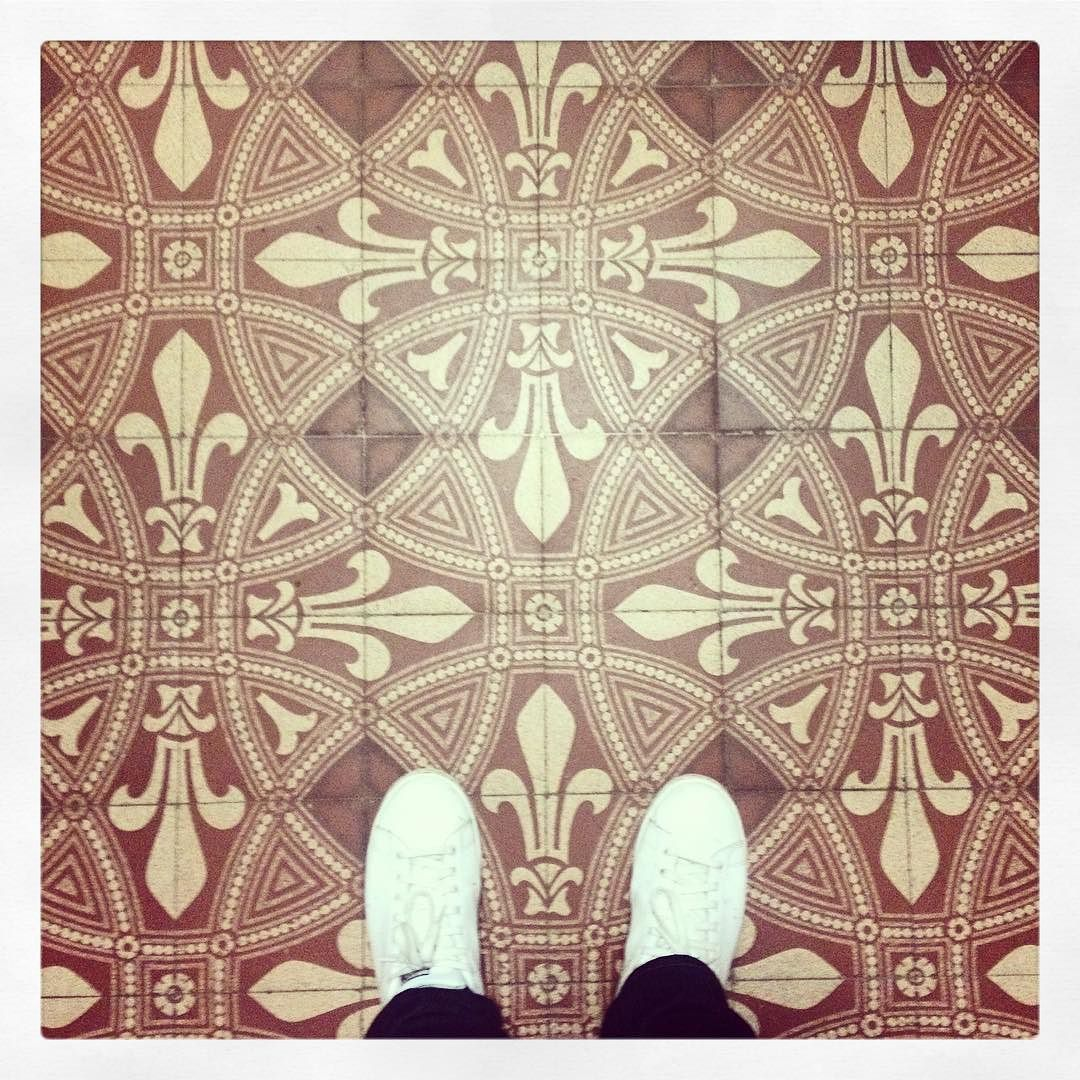 #altenationalgalerie #berlin #ihavethisthingwithfloors #tileaddiction by larteperduta