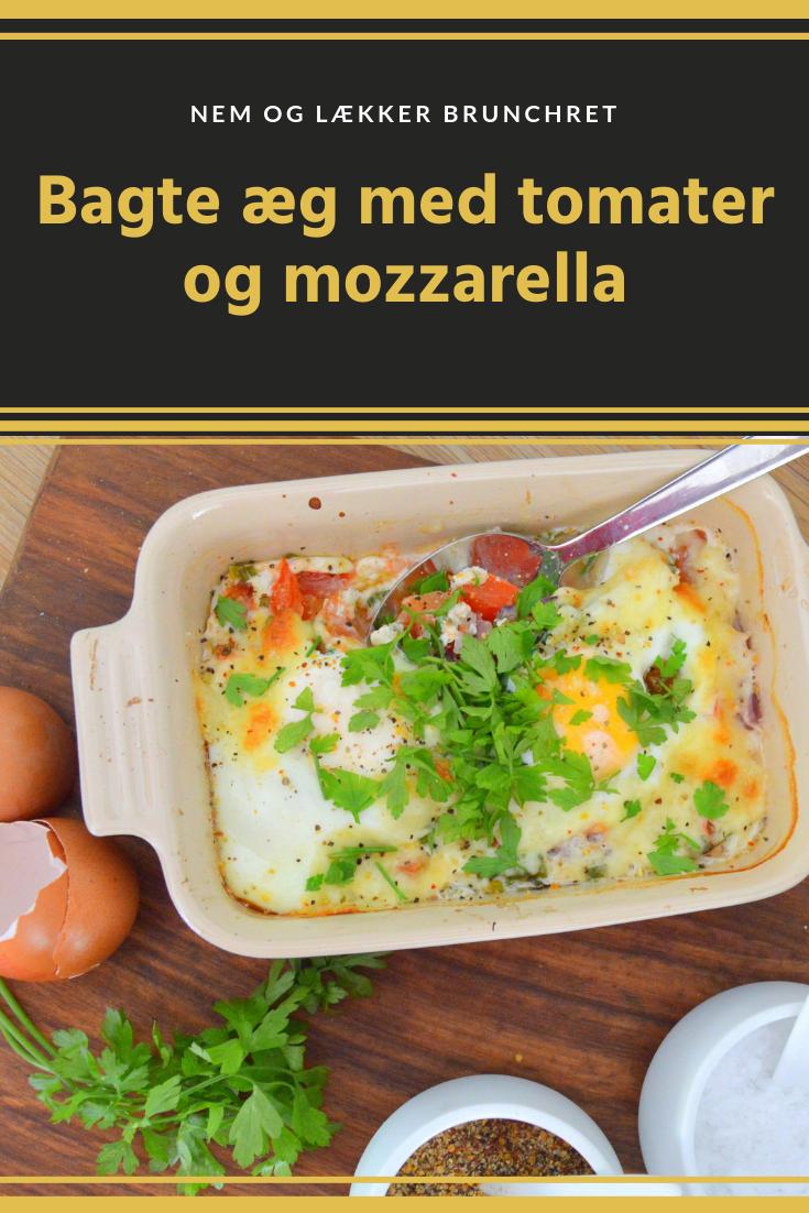 b51c416cfb55 Det er en dejlig nem og lidt anderledes morgenmad. Med lidt hakkede urter  og tomater