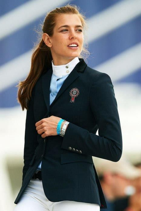 Charlotte Casiraghi equestrian style