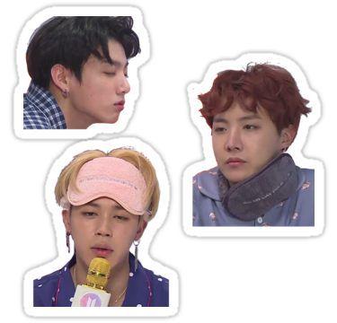 'BTS Meme Set 3 (Sleepy Edition)' Sticker by m o