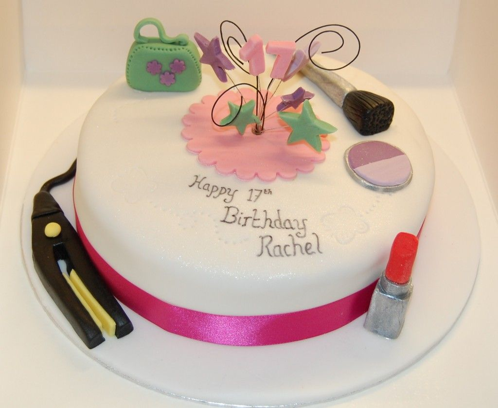 Simple birthday cake for girls 17th wallpapers foods for 17th birthday decoration ideas