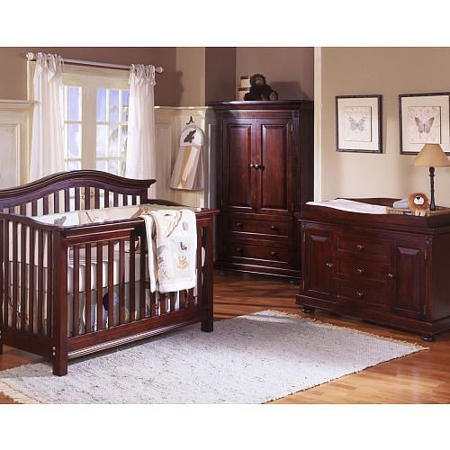 Superbe Our Crib Set (tall Dresser Instead Of Armoire, Crib And Changer/dresser)