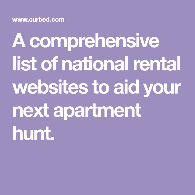 The Best Apartment Rental Sites And Apps