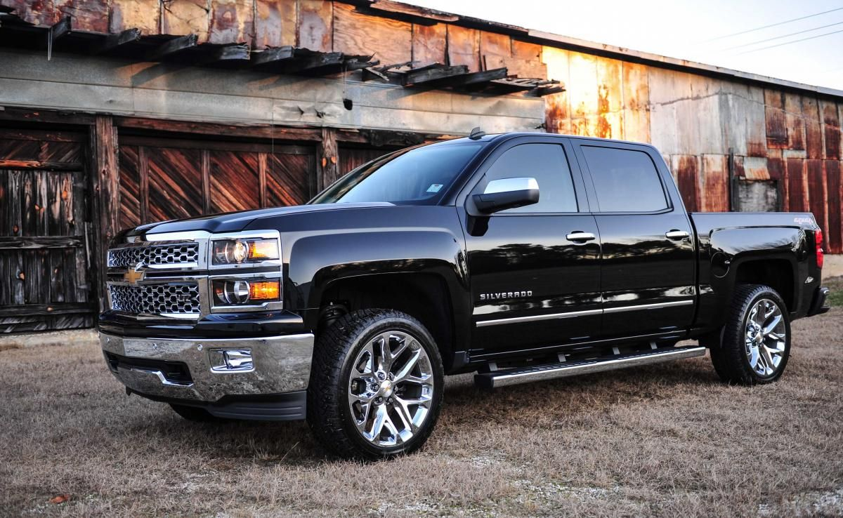 medium resolution of 2014 chevy silverado black ltz
