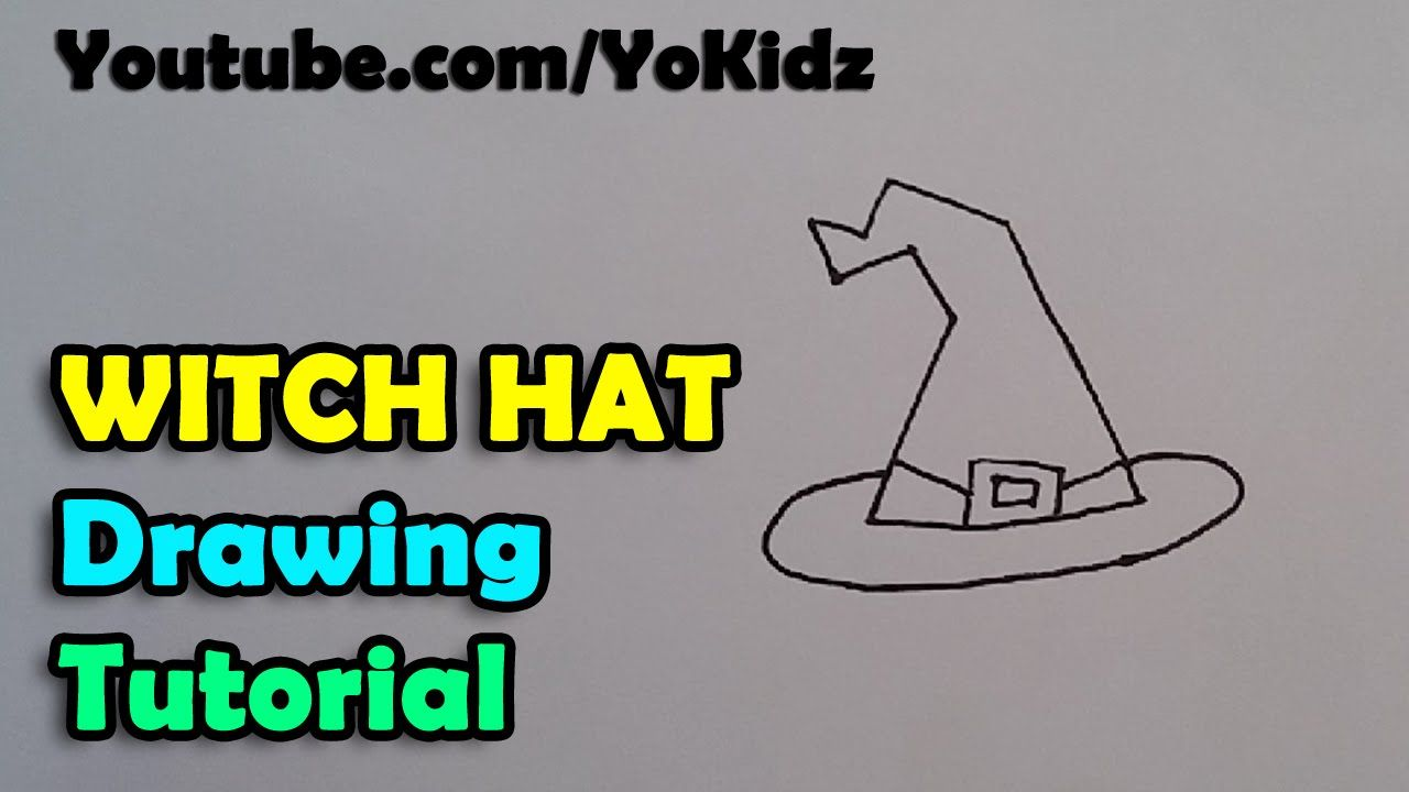 How To Draw A Witch Hat