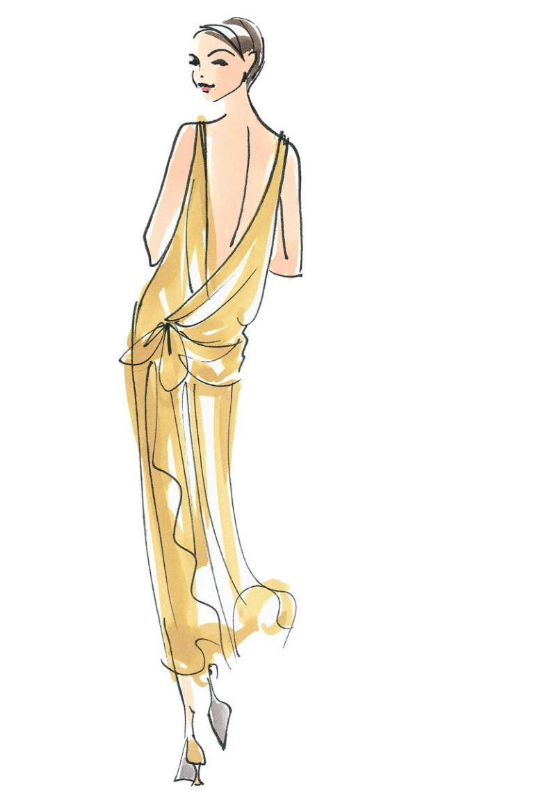 The hundred dresses fashion illustrations illustrations and