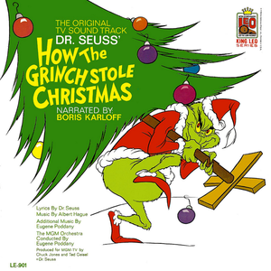 Let The Christmas Carols Begin Grinch stole christmas