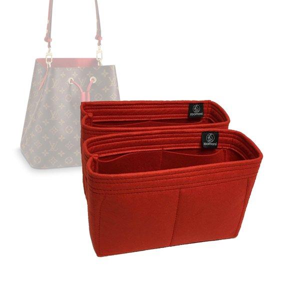 946364b04d0c Louis Vuitton Neo Noe Bag Organizer (Set of 2) - Made by Zoomoni ...