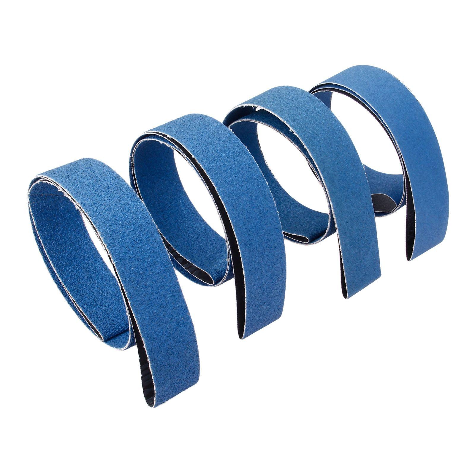 Abrasive Sanding 40pcs Paper Belts 13x457mm Grinding Polishing Sanders Belt Tool