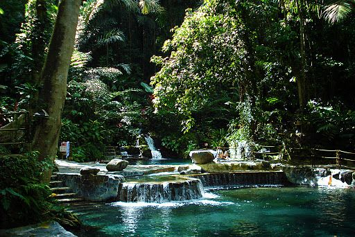 Natural Thermal Pools At Hidden Valley Springs In The Philippines