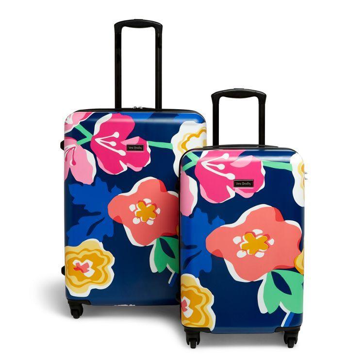 Image Of Hardside Spinner Luggage Set In Grande Santiago Floral Hardside Spinner Luggage Spinner Luggage Spinner Luggage Sets