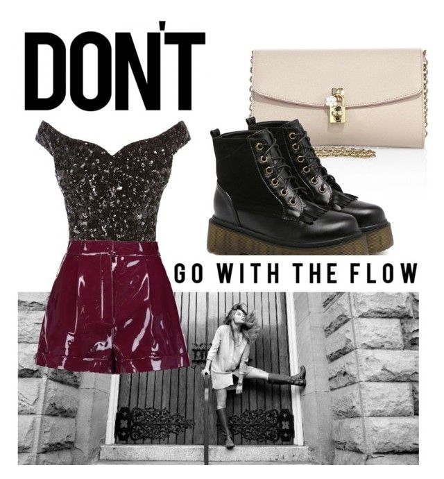 """Flow"" by aljuha ❤ liked on Polyvore featuring Dolce&Gabbana, SOREL and Valentino"