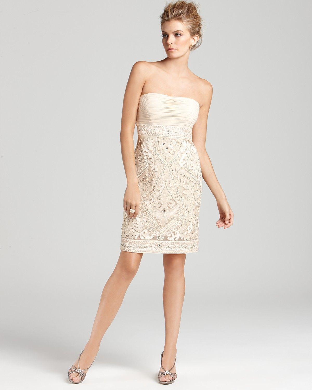 Sue Wong Dress - Strapless - Dresses - Apparel - Contemporary ...