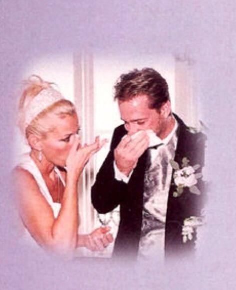 Celebrity Wedding Singers: Lorrie Morgan And Jon Randall. 1996
