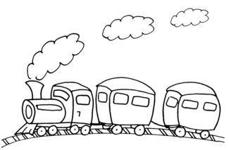 Eisenbahn-Malvorlage Blog Templates About me blog