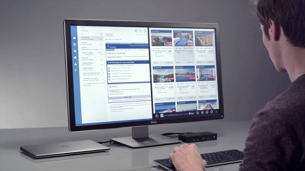 Dell shows the latest DisplayLink enabled docking station