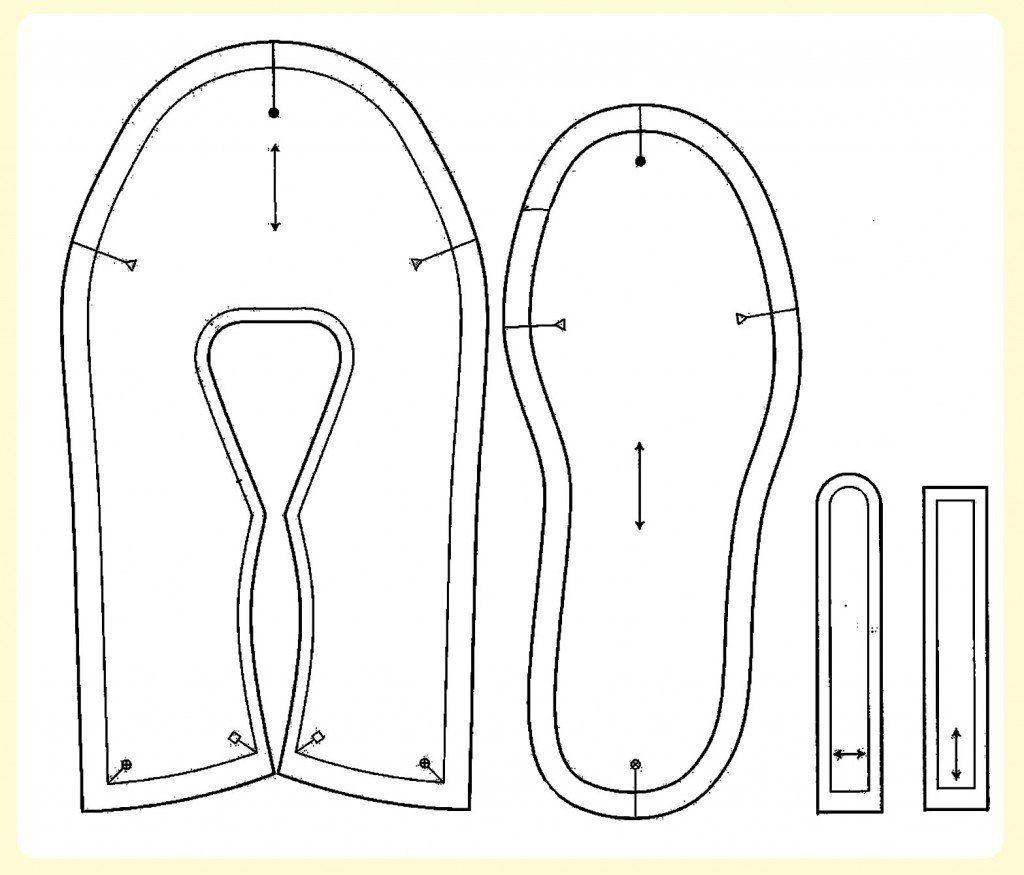 patrones de zapatillas y patucos - Taringa! | balerina | Shoe ...