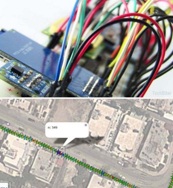 Make A Geo Data Logger With Your Arduino Gps Httpwww