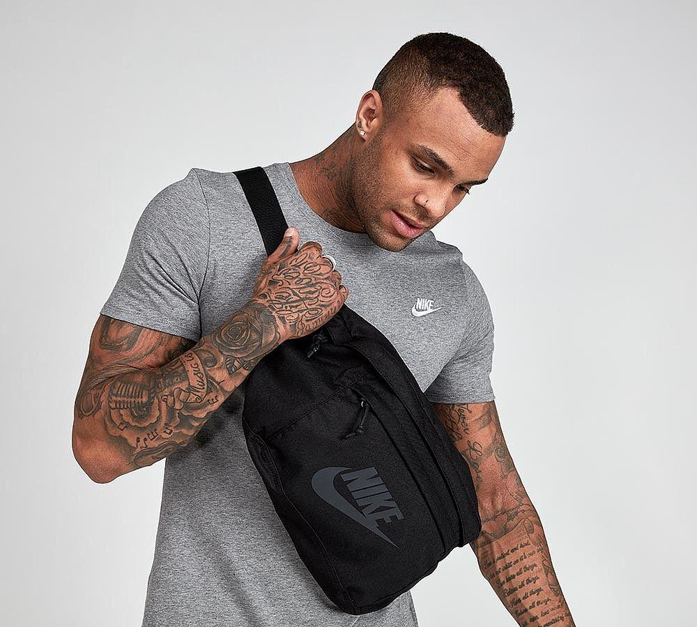 Nike Tech Hip Bag Black / Anthracite Footasylum (с