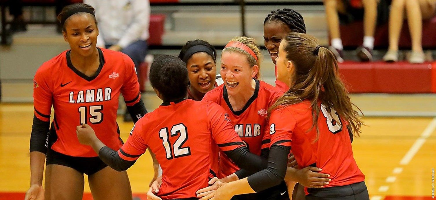 Lamar University Volleyball Splits Cardinal Classic Finale