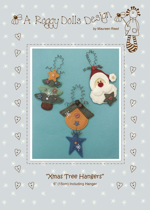 Xmas Tree Hangers Christmas Decorations Pattern