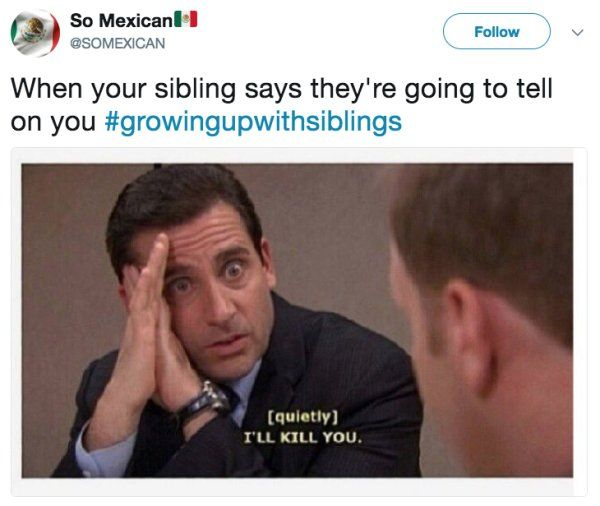 29 tweets you can relate to if you had a sibling