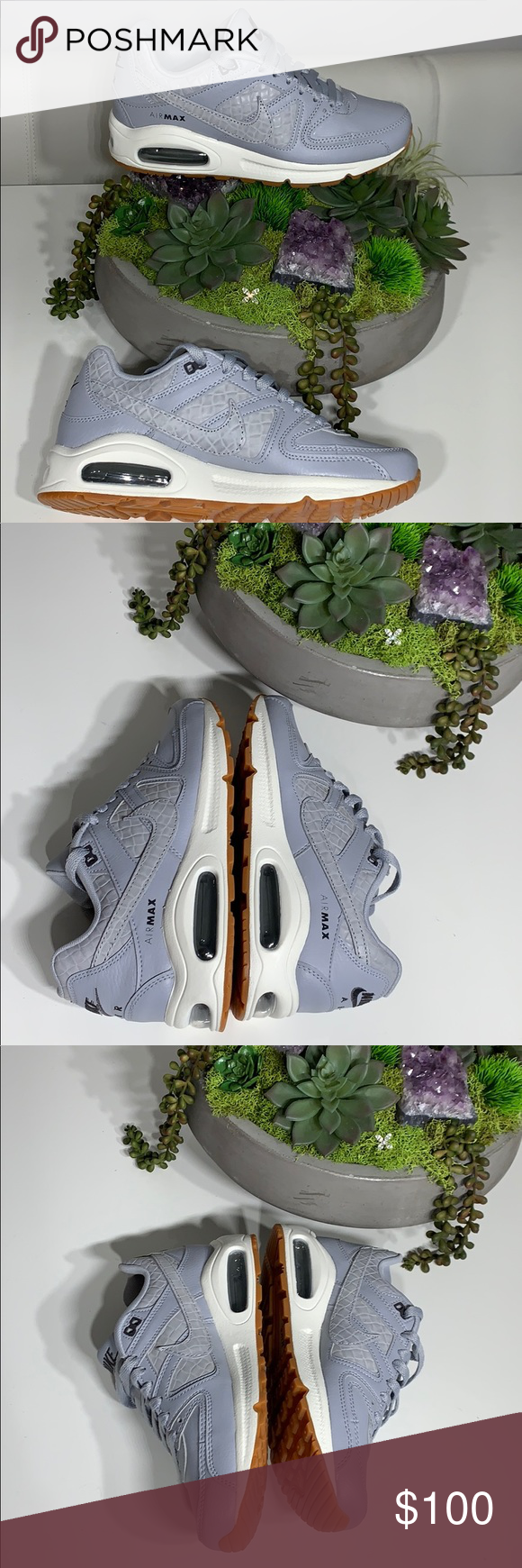 New Nike Air Max Women's Command PRM Wolf Grey New Women's