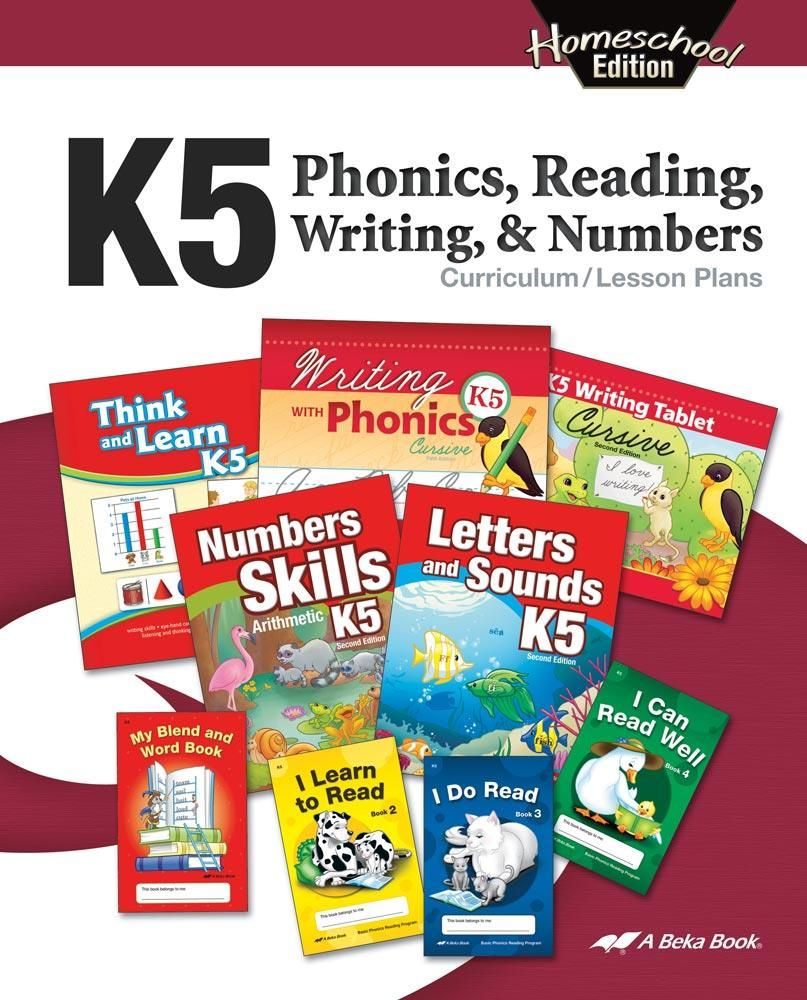 Abeka Product Information Homeschool K5 Phonics Reading Writing And Numbers Curriculum Lesson Plans Curriculum Lesson Plans Phonics Abeka [ 1000 x 807 Pixel ]