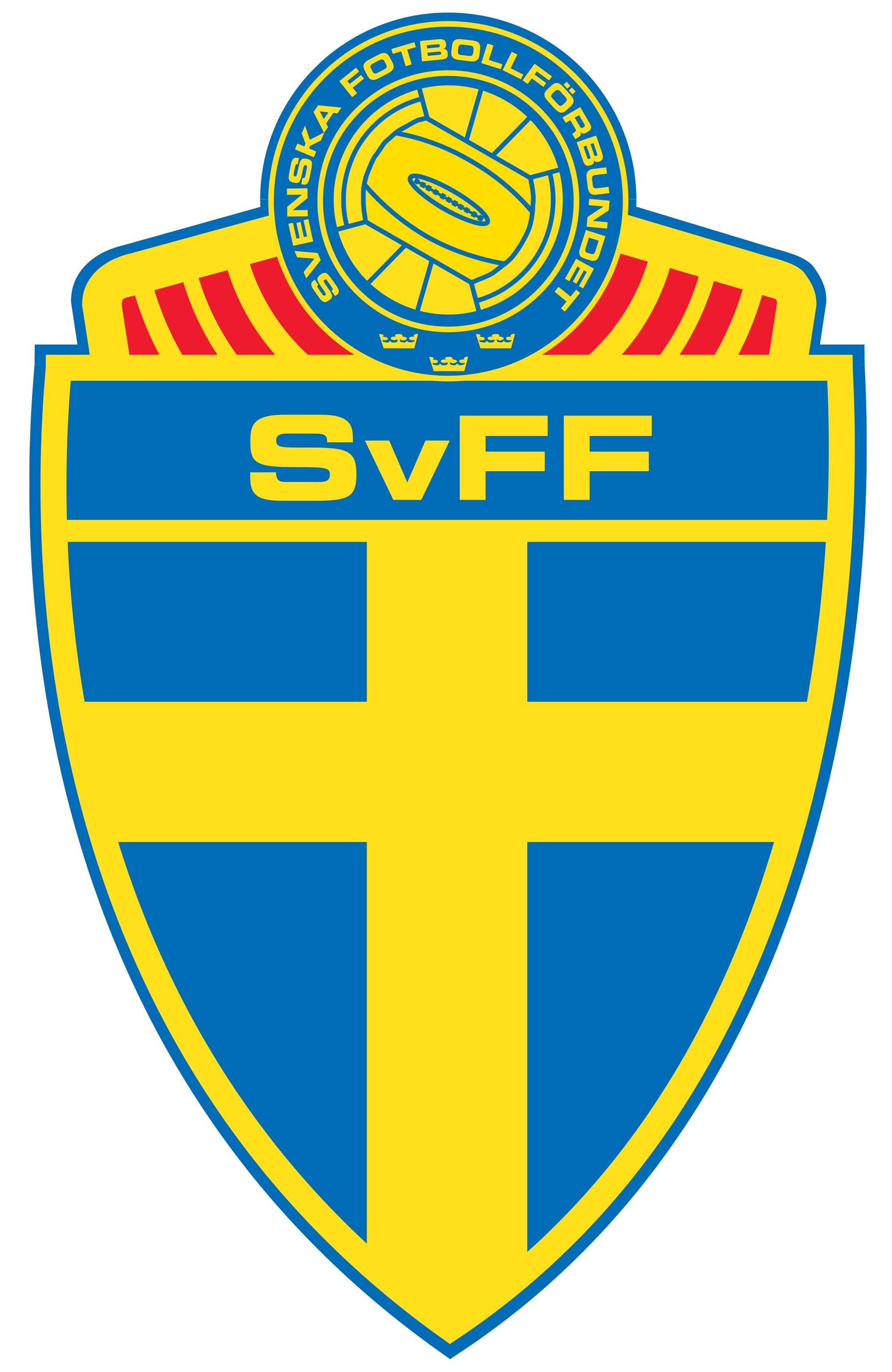 Sweden Football team logos, National football teams