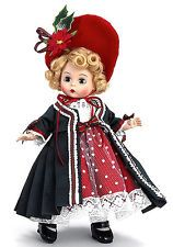 "Madame Alexander VICTORIAN YULETIDE 64460 8"" Wendy HOLIDAY DOLL - NEW"