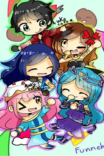 Image Result For Itsfunneh Chibi Wallpaper Youtube Art Fan Art
