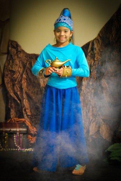 e96361eb7 Nice alternative to the traditional genie look. Kids Genie Costume, Aladdin  Genie Costume,