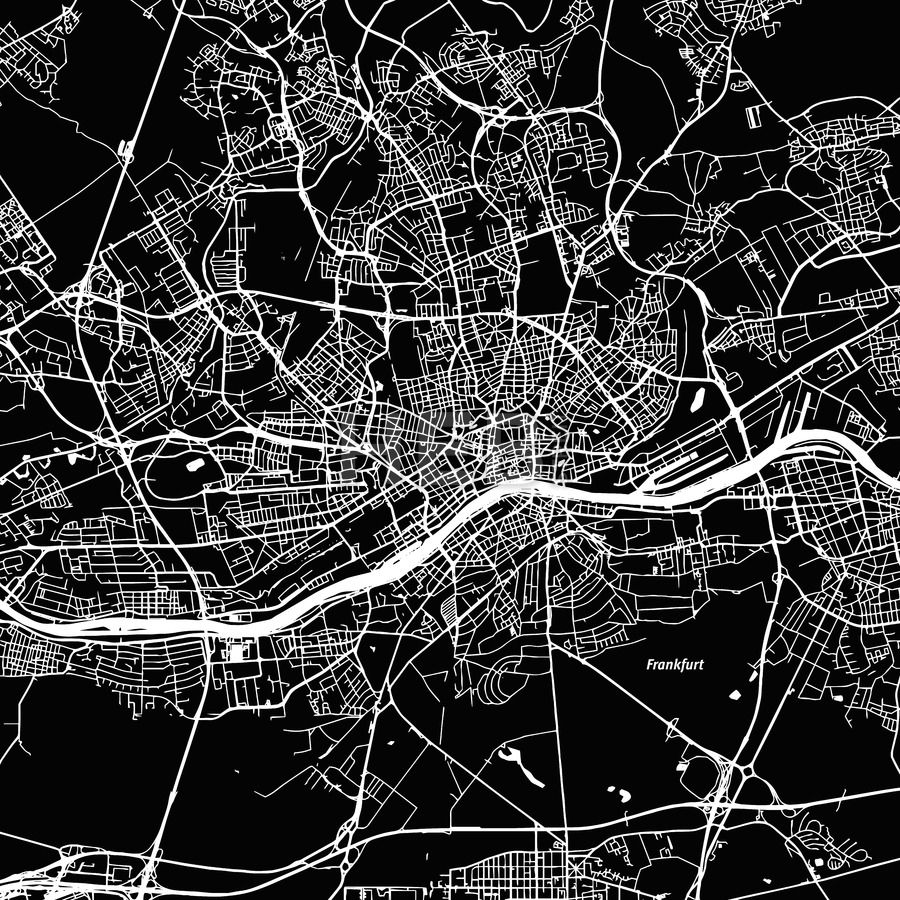 HEBSTREITS Sketches Vector MapMap Stockimage from