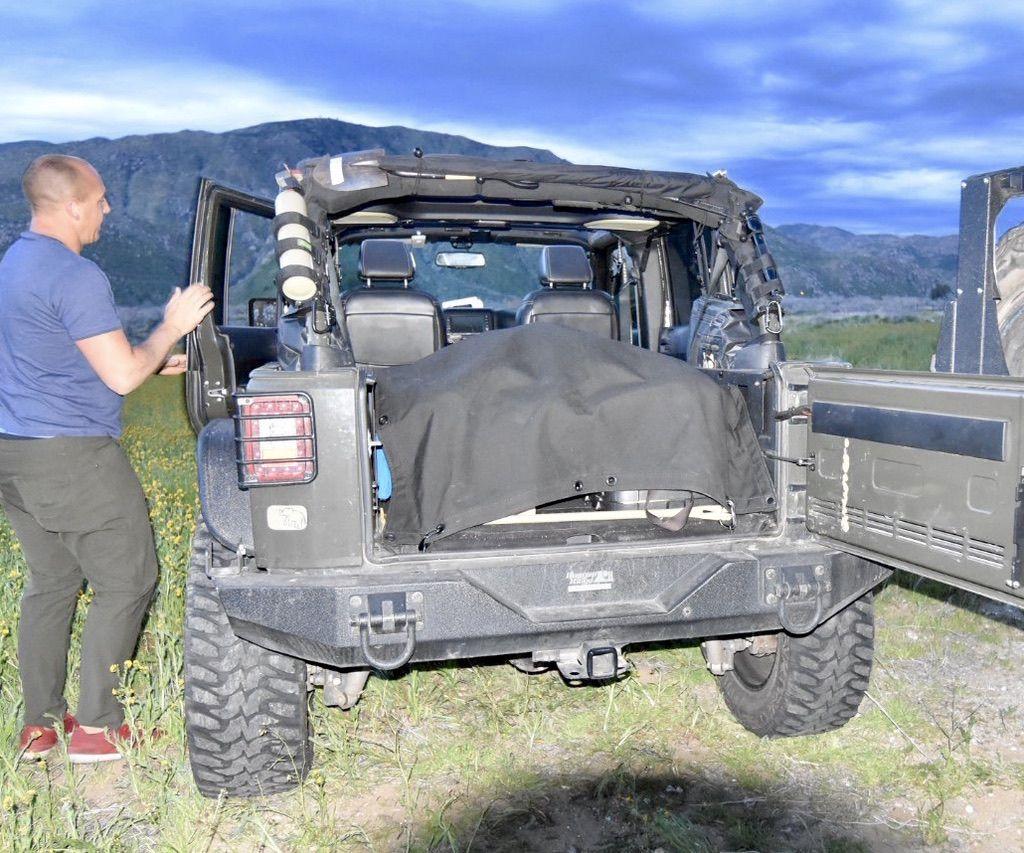 Hammock for Jeep Wrangler by JKloud is the best accessory