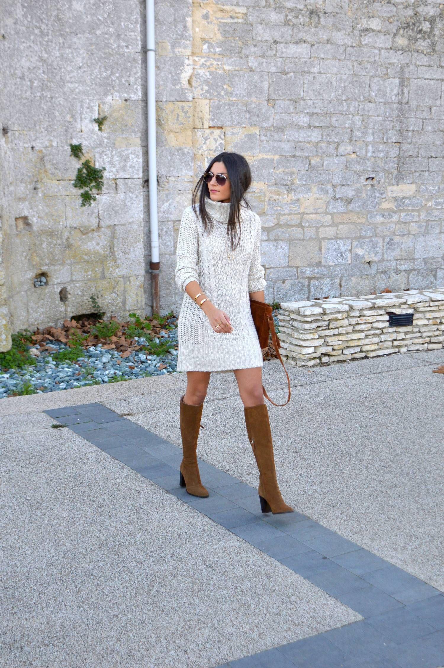 porter la robe pull   Winter Style   Mode en 2018   Pinterest   Robe ... 664aec829966