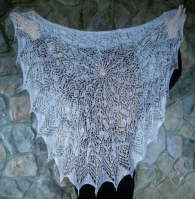 Corryn Shawl pattern by Abigail Phelps   that's a wrap