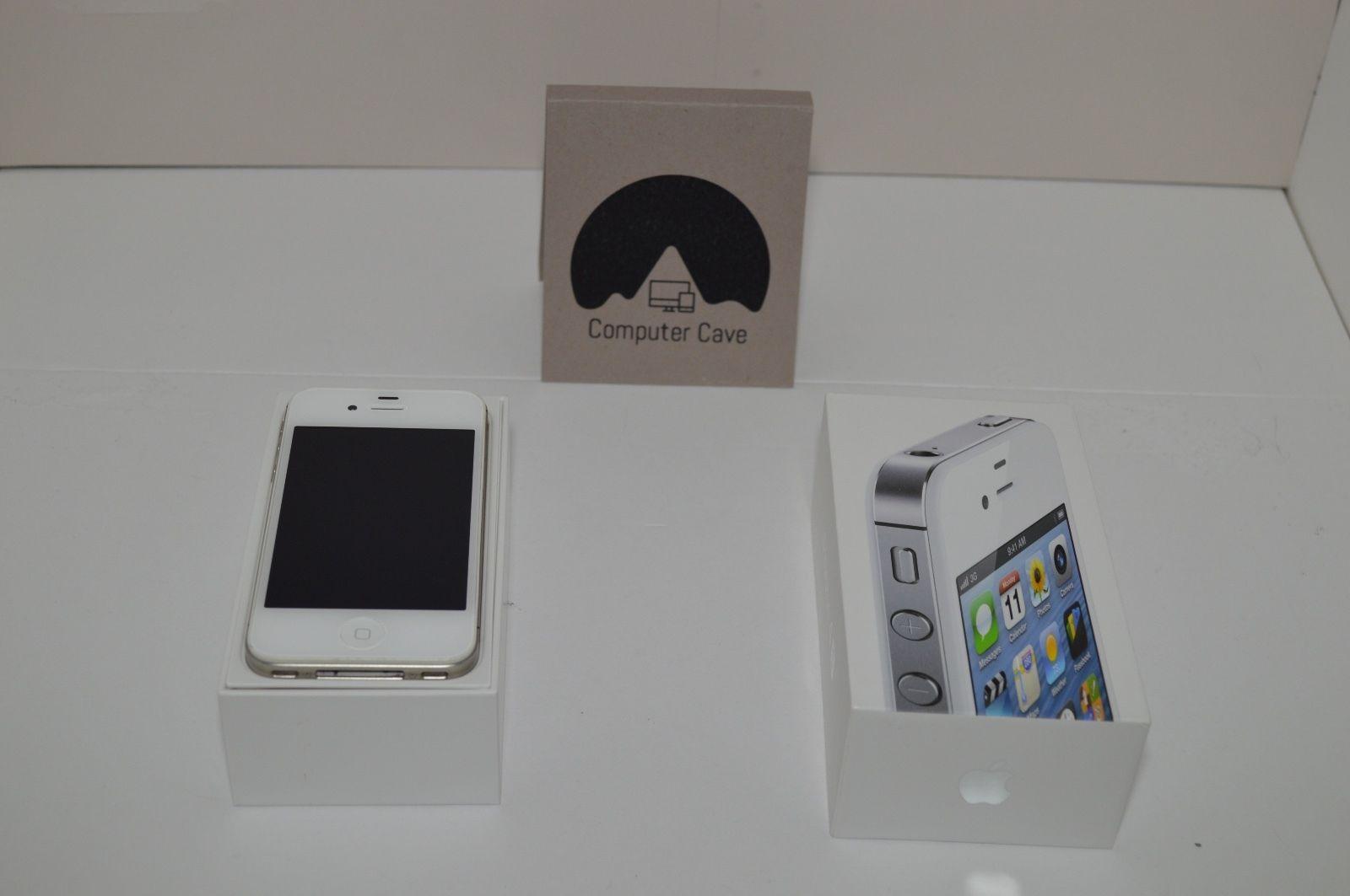 Apple iPhone 4S White 16 GB Unlocked Verizon Bundled w/ Original Box and Charger https://t.co/BFilJQCEXD https://t.co/jTJvdvAVd1