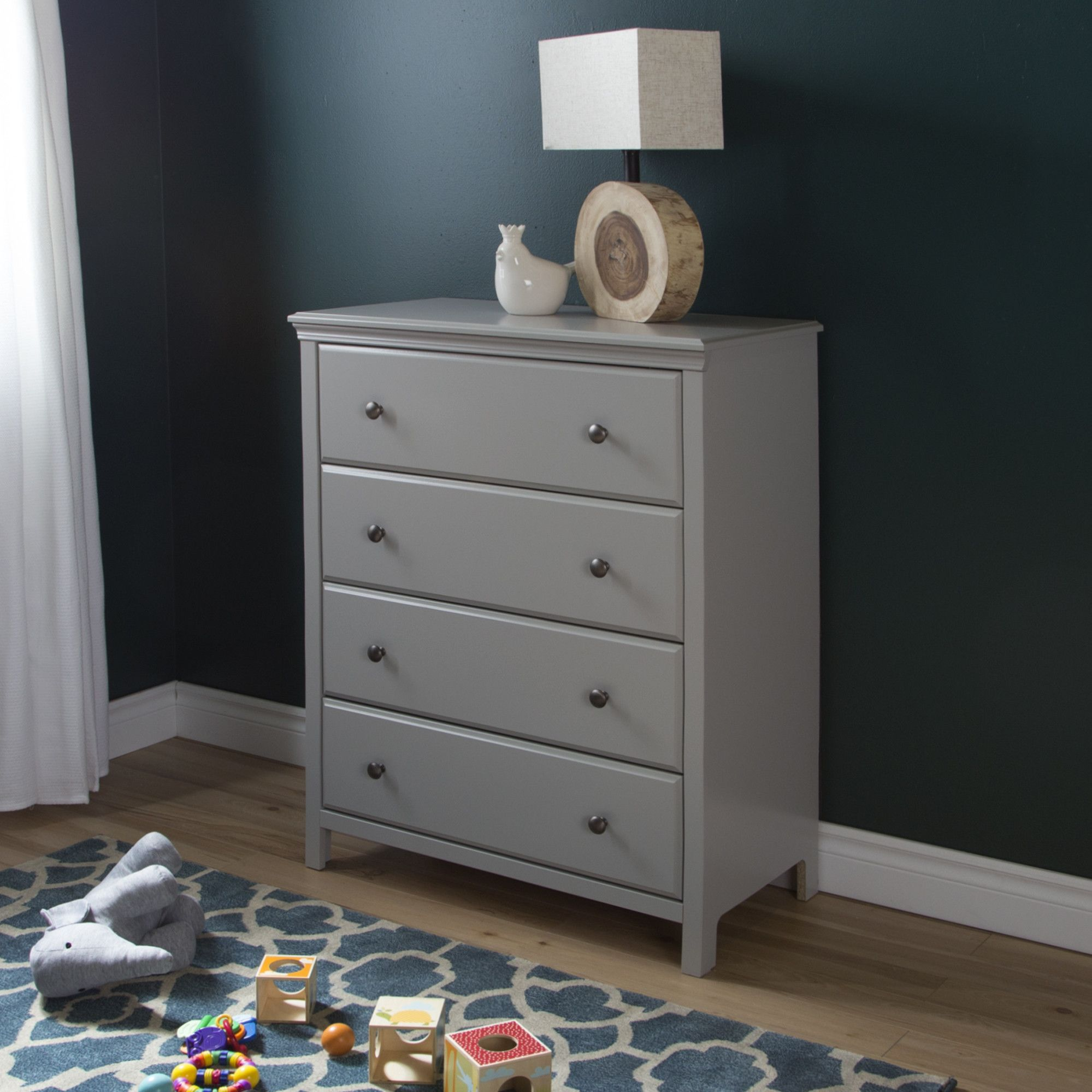 Wayfair Isabelle And Max Grey 6 Drawer Double Dresser Aptdeco Double Dresser Drawers Storage Spaces [ 1000 x 1000 Pixel ]