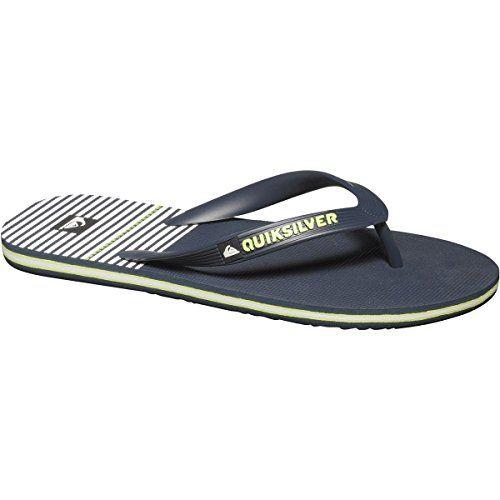 Zapatos negros casual Quiksilver Molokai para hombre qL2wBQK4