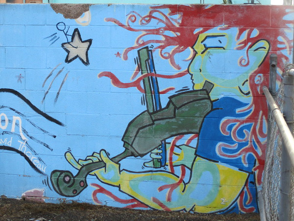 Cool Murals In Logan Heights Near Chicano Park Cool San Diego Sights Chicano Park Chicano Mural