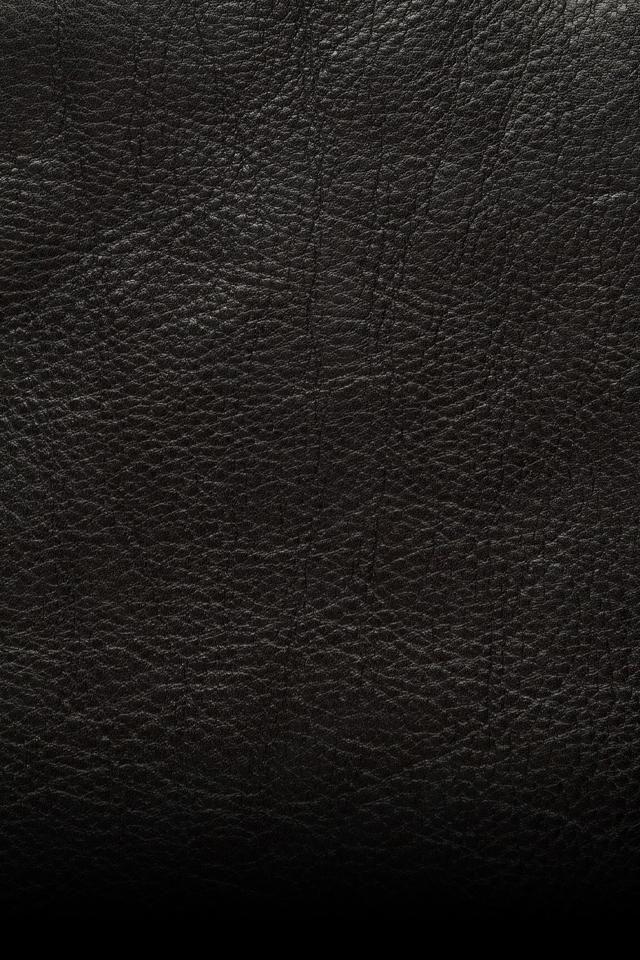 ☺Fond d'écran iphone hd 7450 Cuir noir, Fond ecran noir