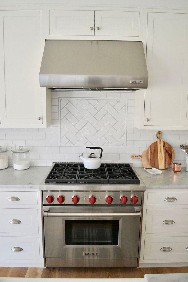Backsplash Is White Subway Tile In Matte Finish Countertops