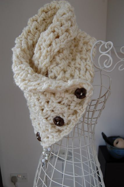 CRAFTY RED: Lattice Crochet Neck Warmer | Crafty | Pinterest ...